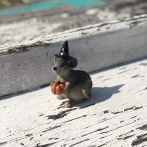Halloween Mouse - Pumpkin