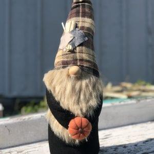 XL Gnome - Patchwork Pumpkin