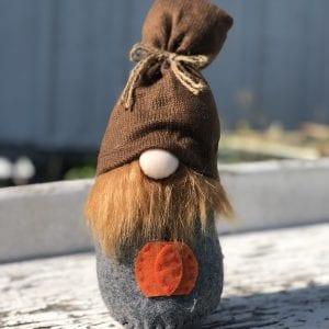 L Gnome - Beard & Pumpkin