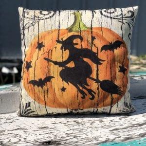 Pillow - Pumpkin Witch