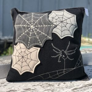 Pillow - Cobweb Square