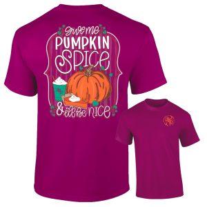 AB Shirt - Pumpkin Spice 1