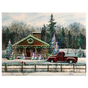 Winter Scene canvas