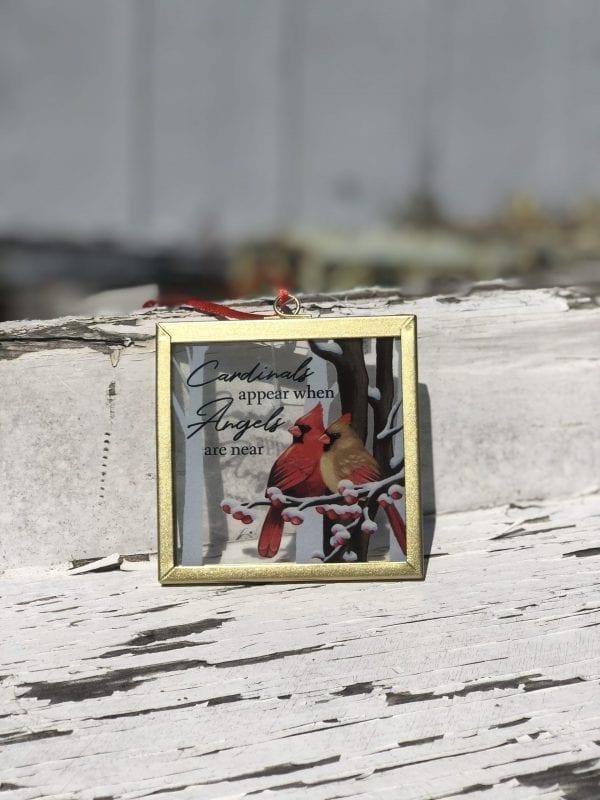 Cardinals Appear ornament