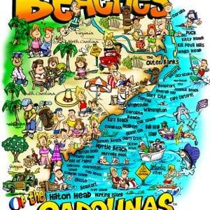 Beaches of the Carolinas
